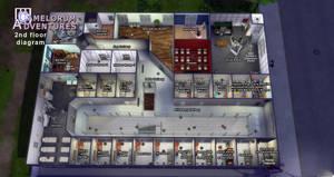 Camelorum 2nd floor diagram by BulldozerIvan