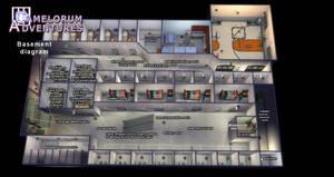 Camelorum basement floor diagram by BulldozerIvan