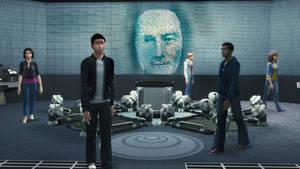 Sims 4 Power Rangers Command Center Wallpaper 720p by BulldozerIvan