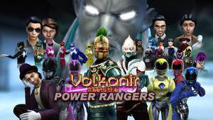 Volkonir Meets the Power Rangers (opening slide) by BulldozerIvan