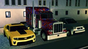 TS3 Transformers Wallpaper by BulldozerIvan