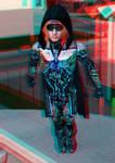 The Sapphire King 3D Red-Cyan by BulldozerIvan