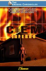 Ciem Inferno Book Front Cover by BulldozerIvan