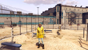 Lemon Witch in the Jail Yard by BulldozerIvan