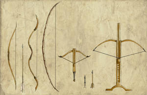 Ranged Weapons by Erkahoth