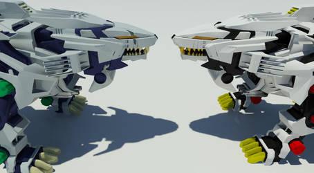 Showdown [Animation link in description] by mufasa561