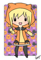 Halloween commish by Kooliokatz