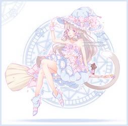 [Pending] Neko Flower Witch [Semi-CYOP] by Cottoneeh