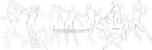 Quick Poses Blargh by MadameNyx
