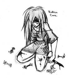 Rotten Core by hellslilangel
