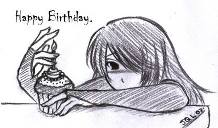 Happy Birthday...to You. by hellslilangel