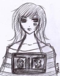 Prisoner of her own Emotions. by hellslilangel