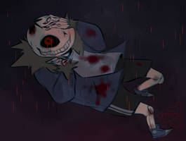 Horror I Guess by ferist