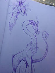 Dragon Thingy. by Alfies-an-Artist