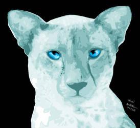 Aliava, The Moon Cat by milkywaysora