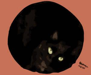 River's Cat by milkywaysora