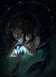 A Luring Mermaid by arania