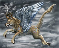 Rayndancer, the Stormbringer by arania