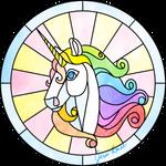 Glass Unicorn by JessiRenee