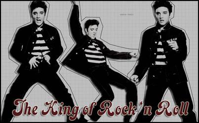 The King of Rock 'n Roll by Rabya-Fraij