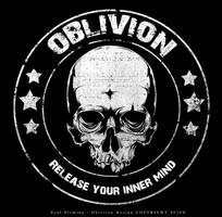 Oblivion Skull Logo by Oblivion-design