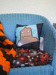Alphonse Pillow by cat-chan