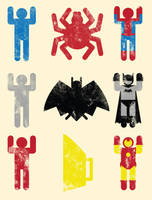 Super Heroic Minimalism II by biotwist