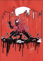 Toxin symbiot by tony-rhodes-gunair