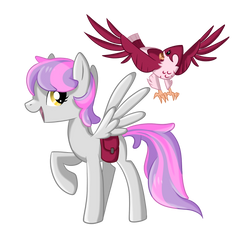 Zephyr Squall and Feathers by OkapiFeathers