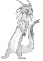 Dasku Salamander Demon by PinkHare