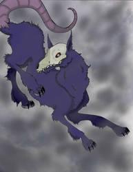 Brochi, Demon of Rain by PinkHare