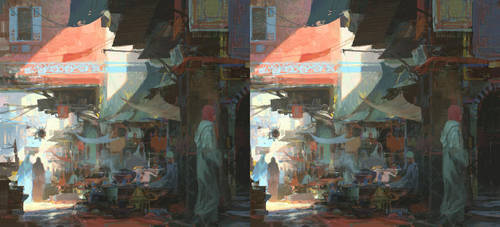 Side Street - stereo by artbytheo