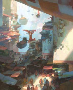 Dock Bazaar by artbytheo