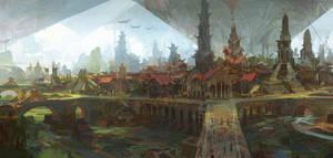 Old City by artbytheo