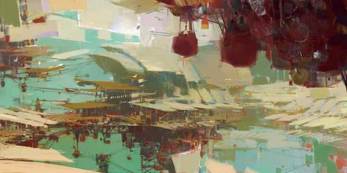 Kite City 1 - Guild Wars 2 by artbytheo