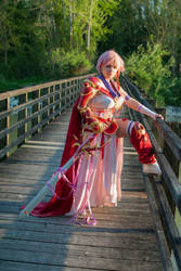 Hikaru from Magic Knight Rayearth by Miwako-cosplay