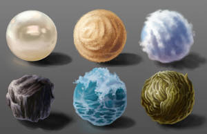 Material Studies by NynjaKat