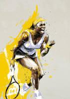 Serena Williams by neo-innov