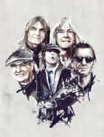 AC/DC illustration by neo-innov