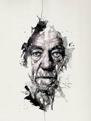 Ian McKellen by neo-innov