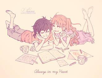 + Always in my Heart + by SaraFabrizi