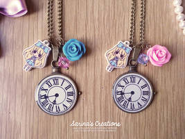+ Alice in Wonderland Necklaces + by SaraFabrizi
