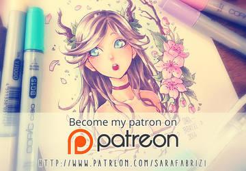 PATREON SUPPORT! by SaraFabrizi