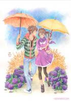 + Spring Rain + by SaraFabrizi