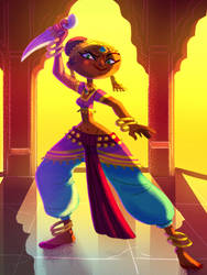IndianDancer by Diaff