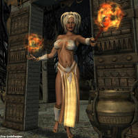 Mistress of the Gate by faegatekeeper