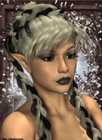 Beautiful Elf by faegatekeeper