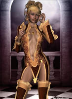 Golden Elf by faegatekeeper