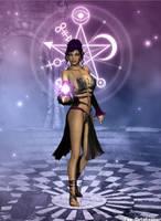 Purple Enchantress by faegatekeeper