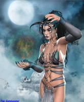 Blue Witch by faegatekeeper